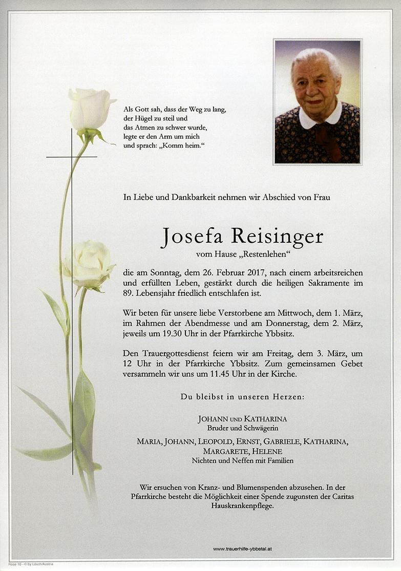 Parte Josefa Reisinger