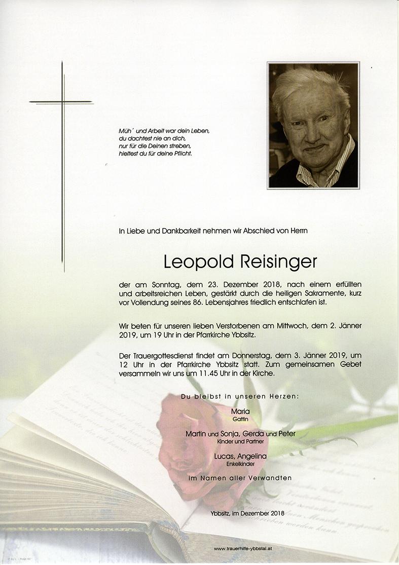 Parte Leopold Reisinger