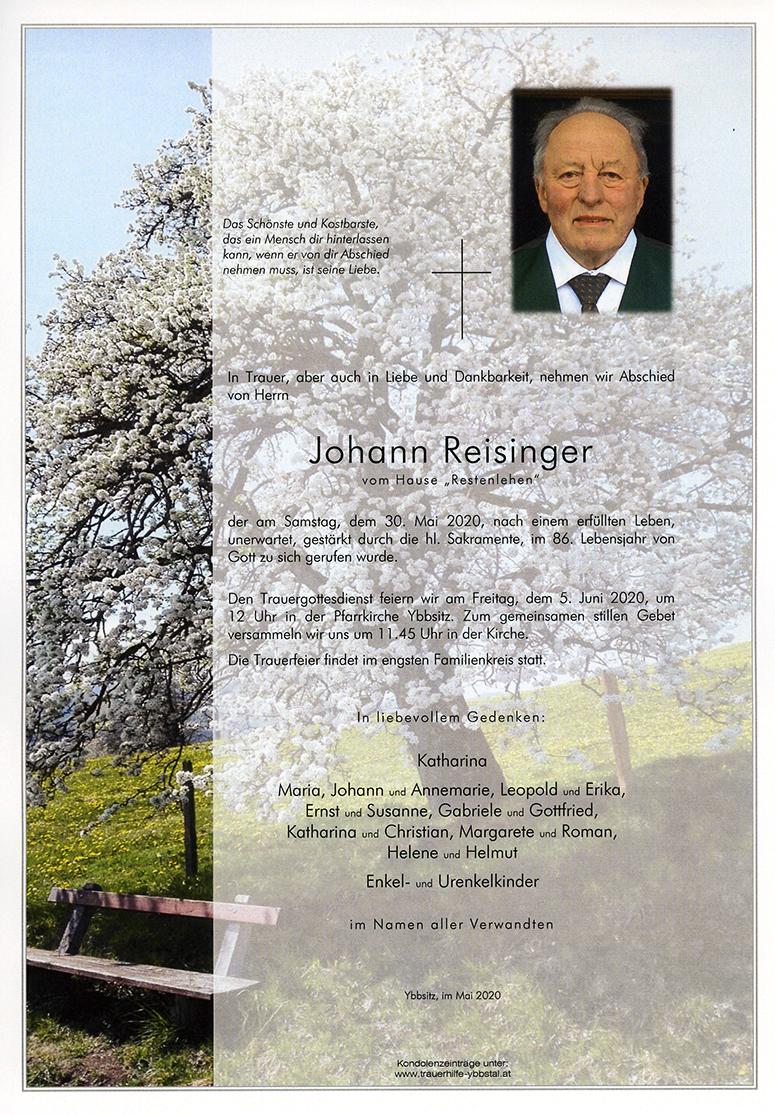 Parte Johann Reisinger