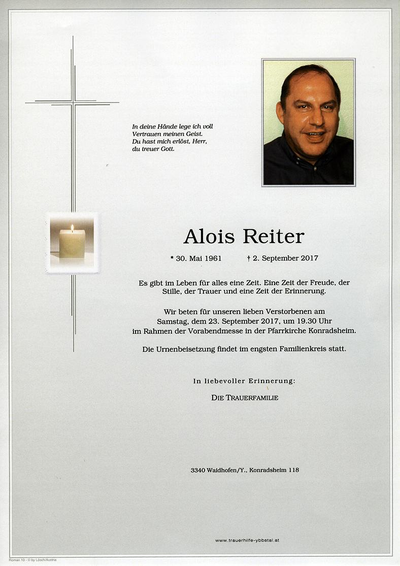 Parte Alois Reiter