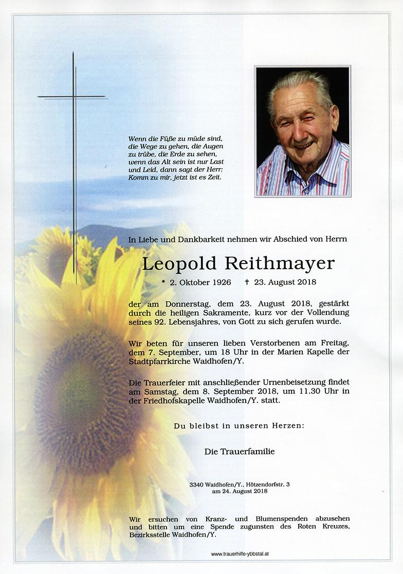 Parte Leopold Reithmayer