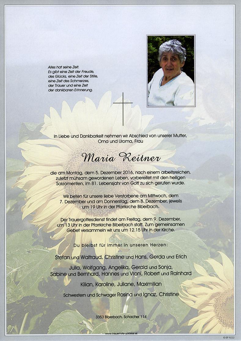 Parte Maria Reitner