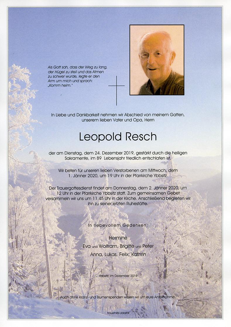 Parte Leopold Resch