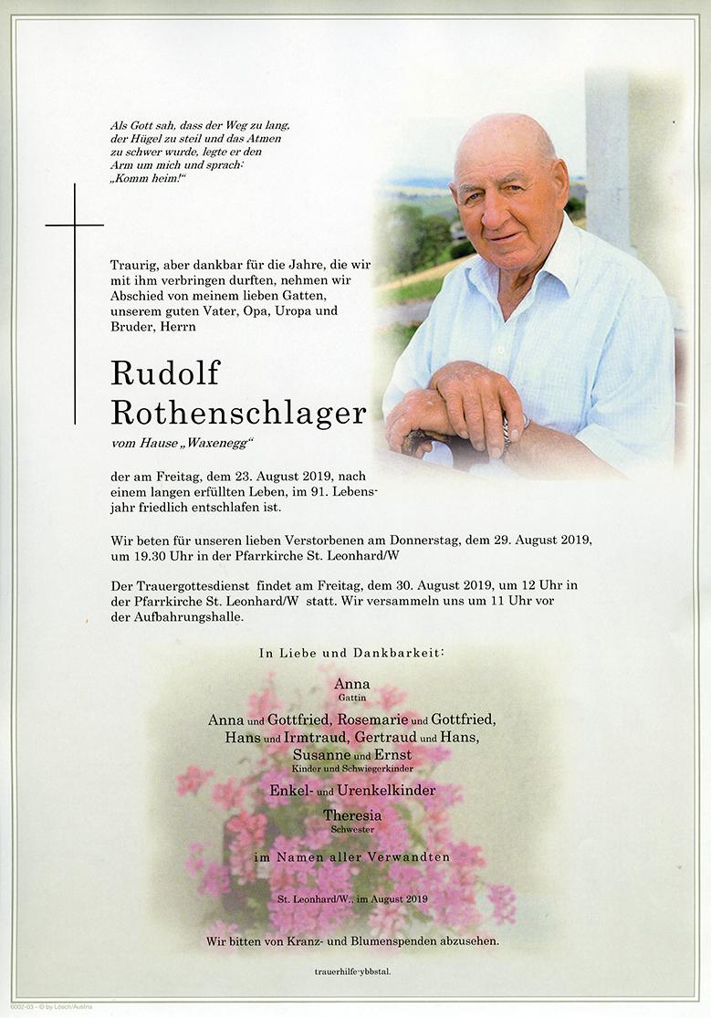 Parte Rudolf Rothenschlager
