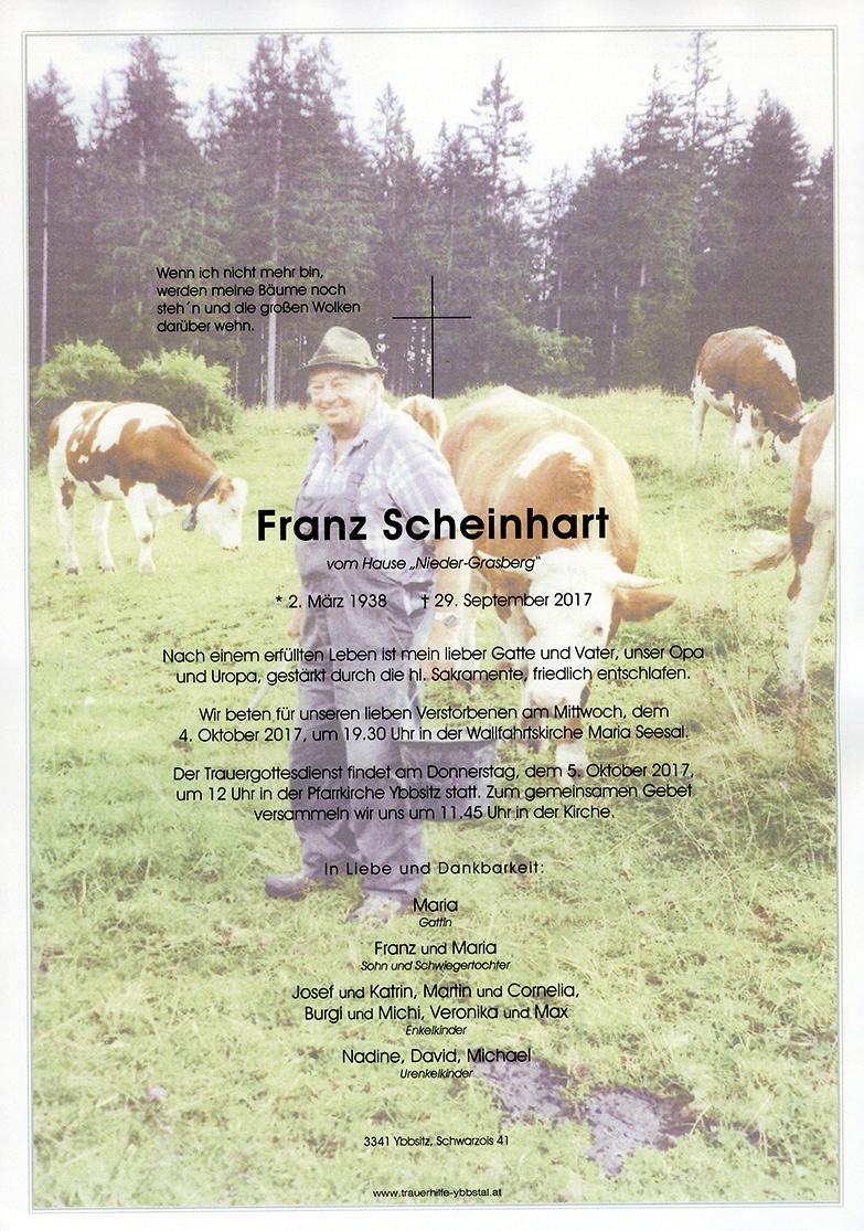 Parte Franz Scheinhart