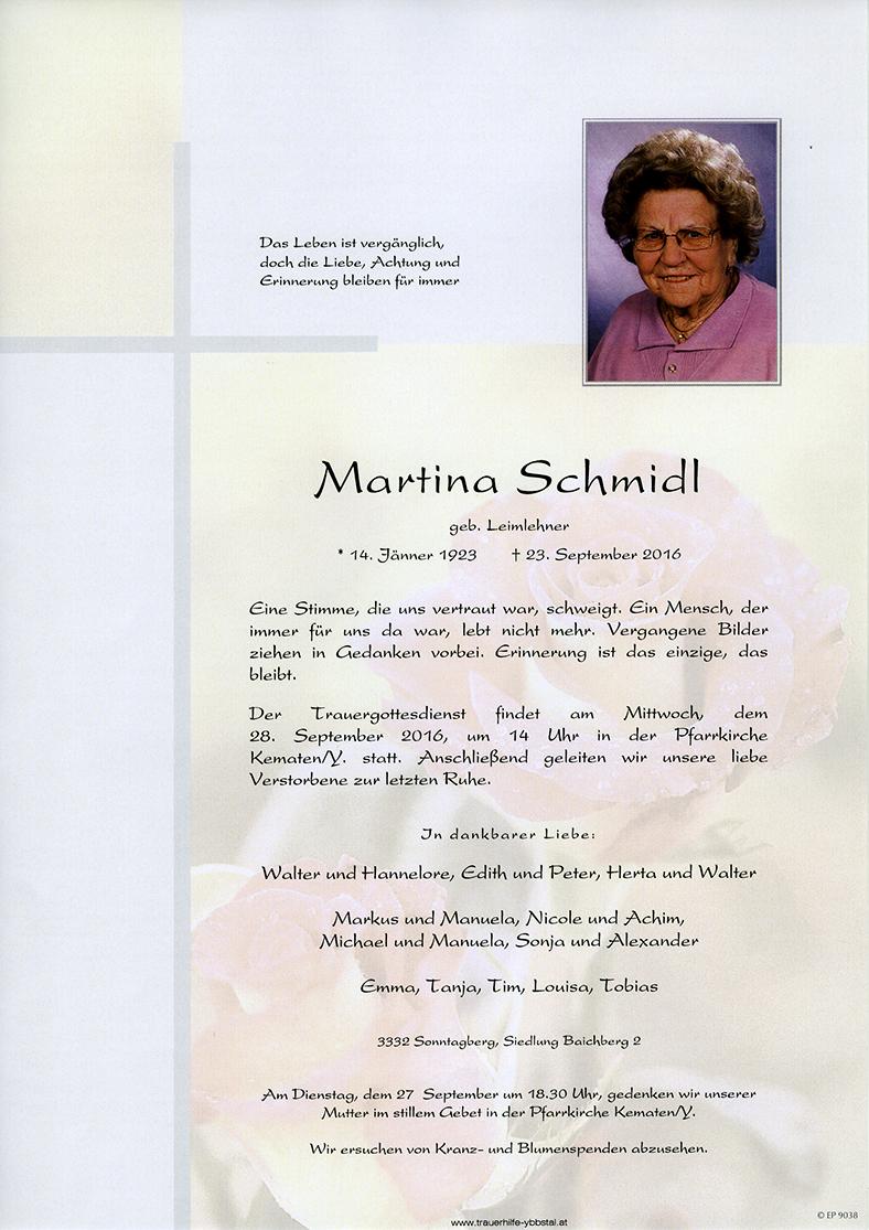 Parte Martina Schmidl