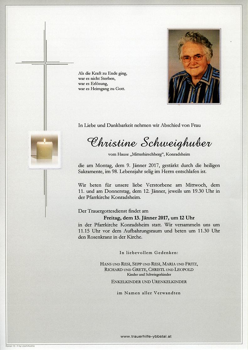 Parte Christine Schweighuber
