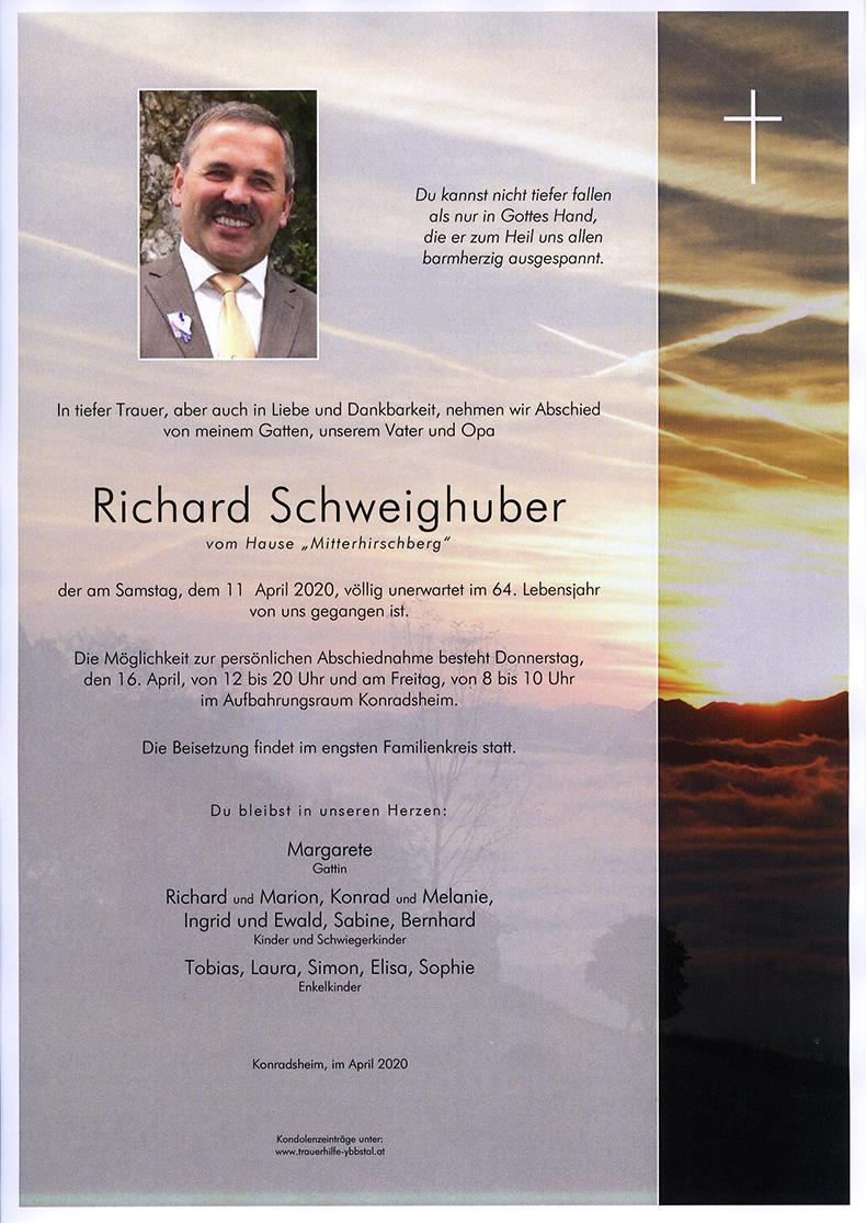 Parte Richard Schweighuber