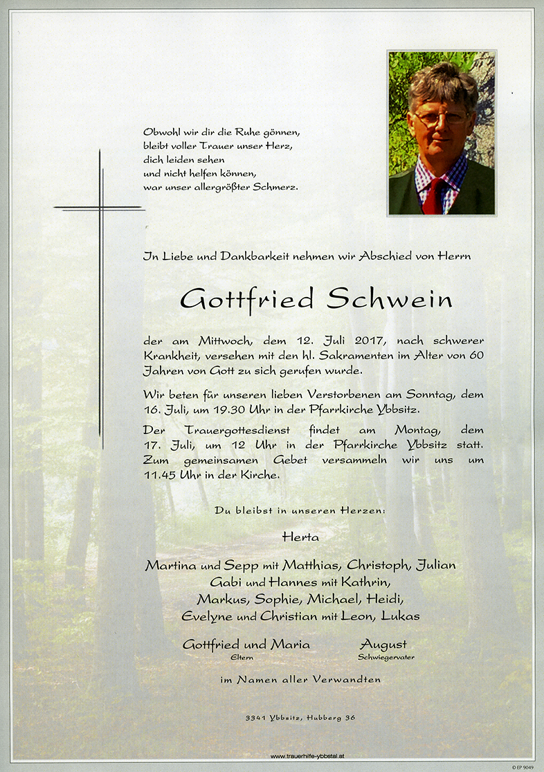 Parte Gottfried Schwein