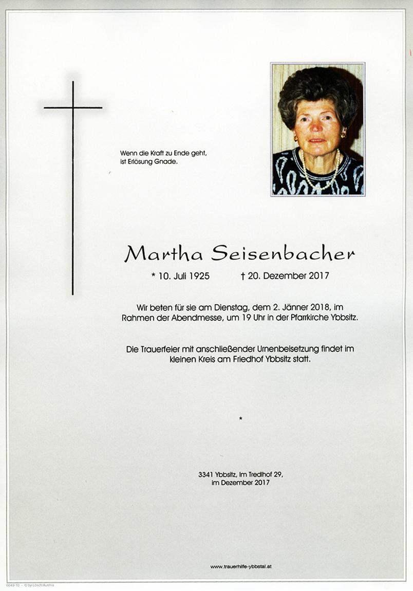 Parte Martha Seisenbacher
