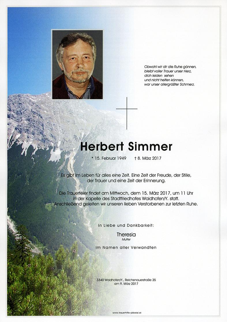 Parte Herbert Simmer