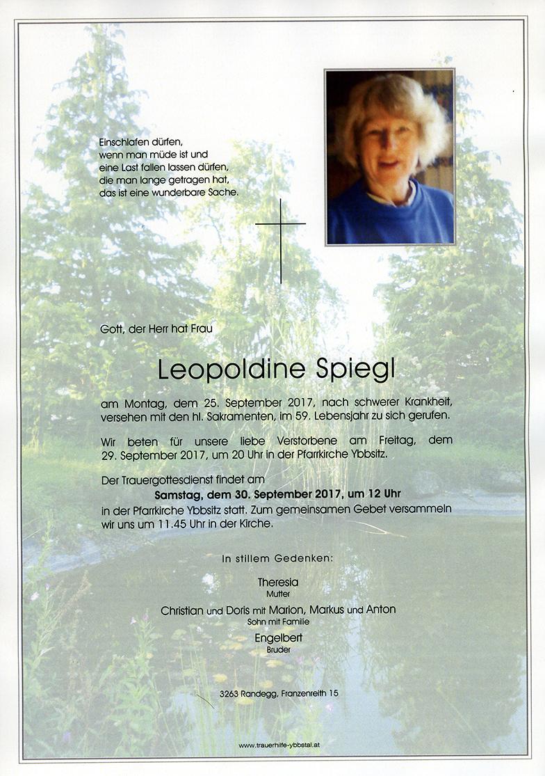 Parte Leopoldine Spiegl