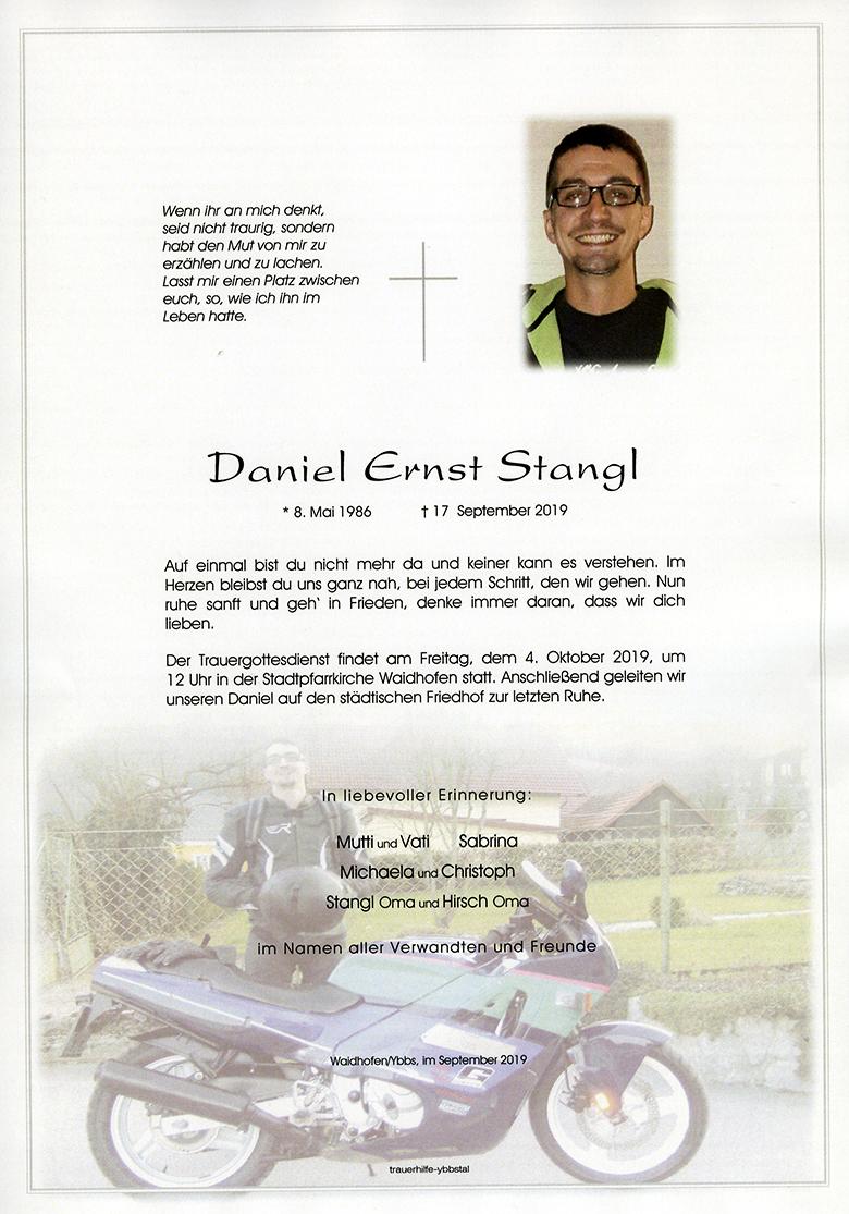 Parte Daniel Ernst Stangl