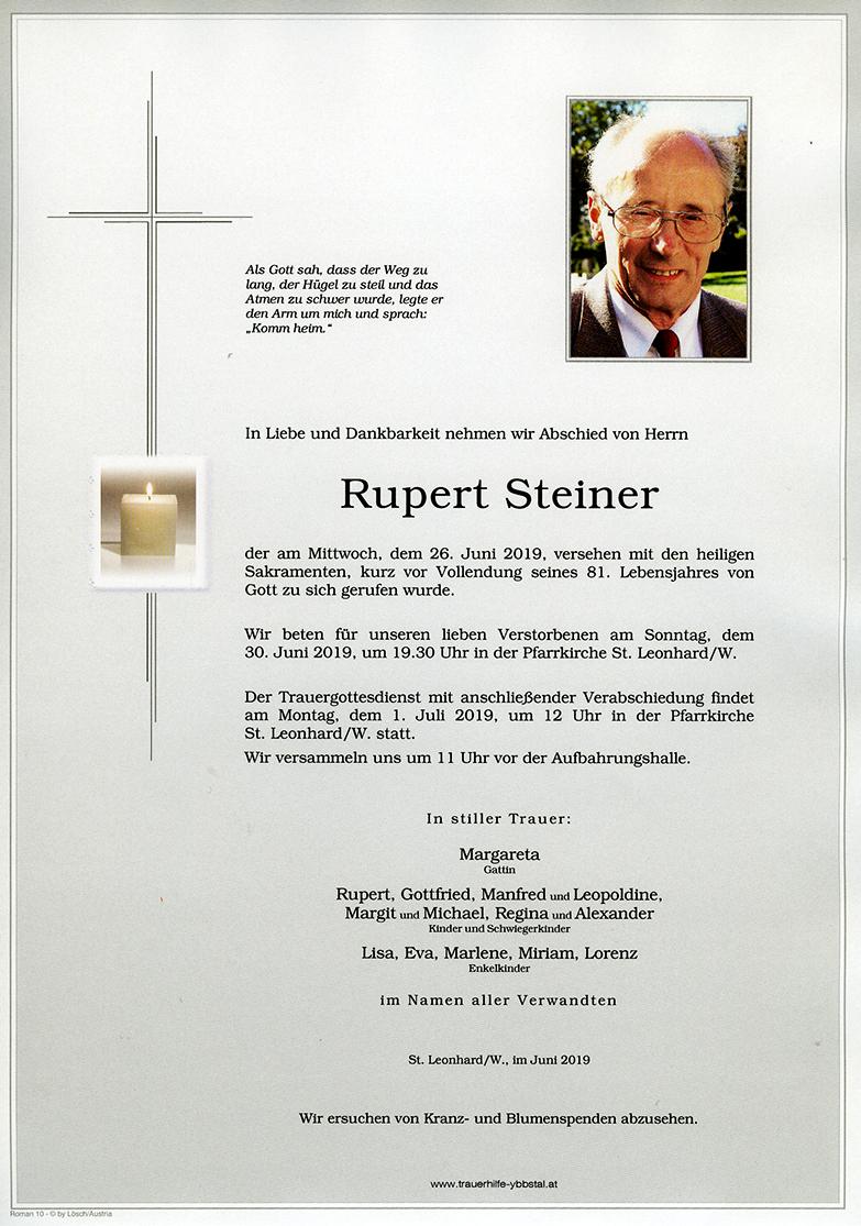 Parte Rupert Steiner