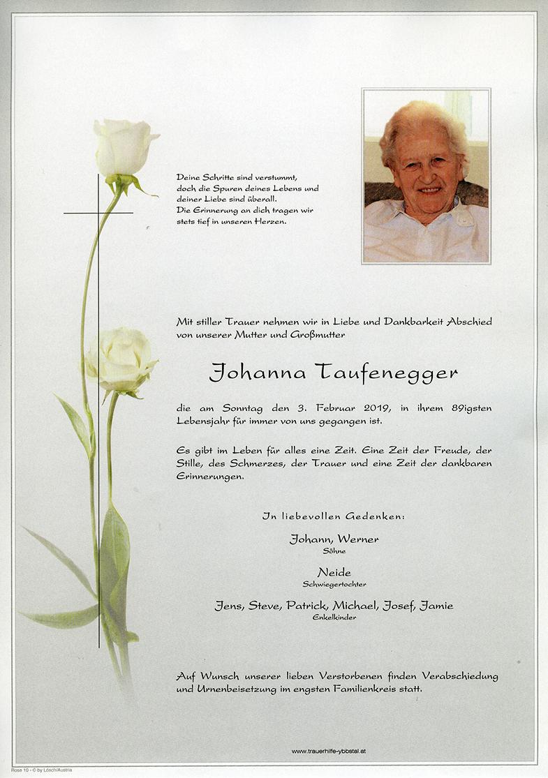 Parte Johanna Taufenegger