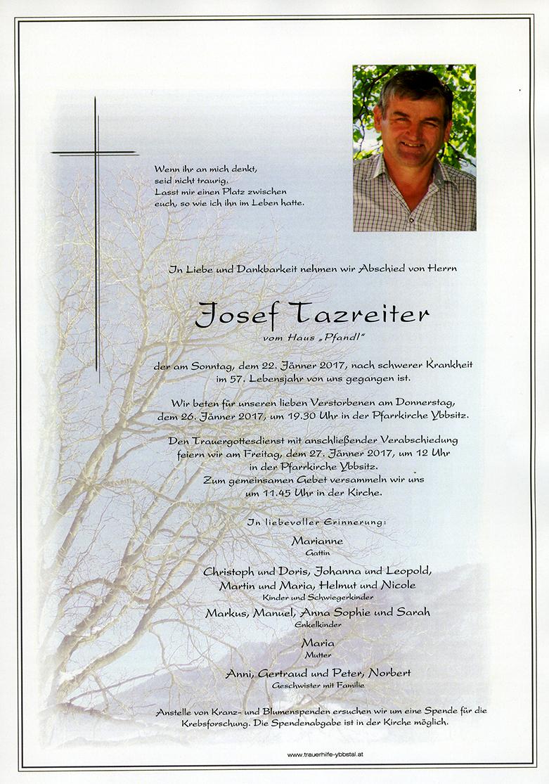 Parte Josef Tazreiter