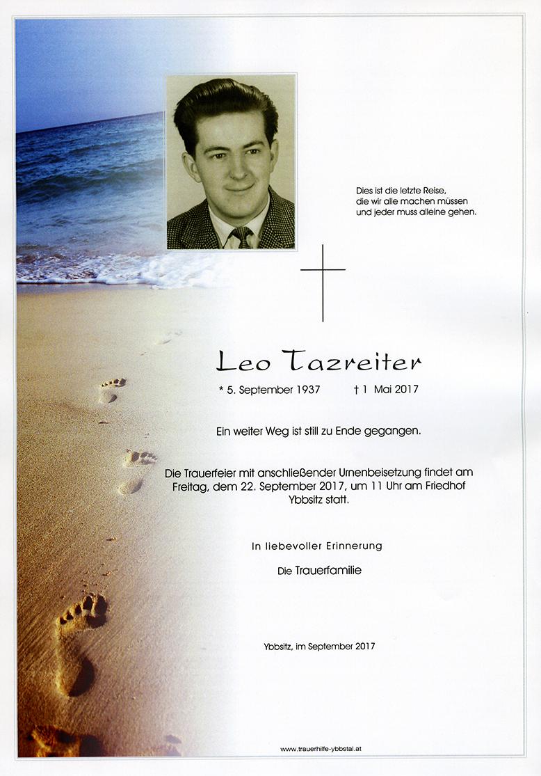 Parte Leo Tazreiter