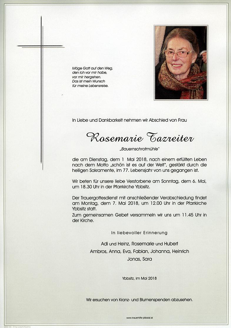 Parte Rosemarie Tazreiter