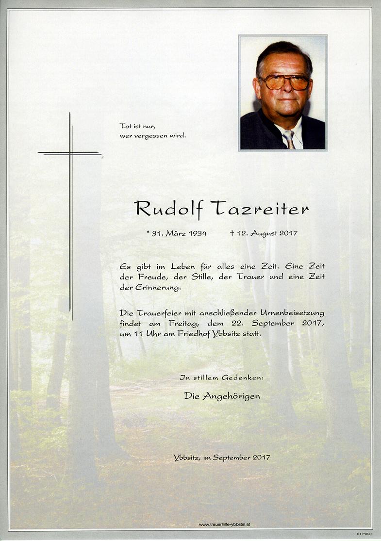 Parte Rudolf Tazreiter