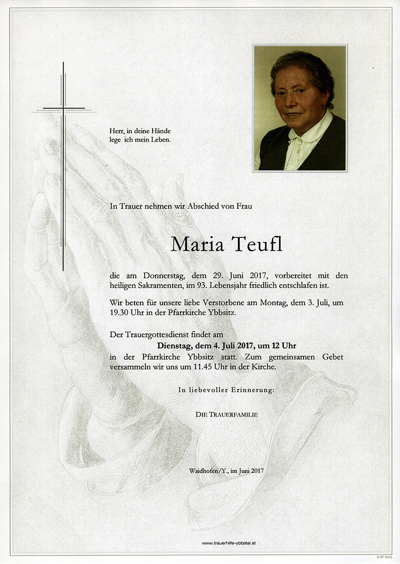 Parte Maria Teufl
