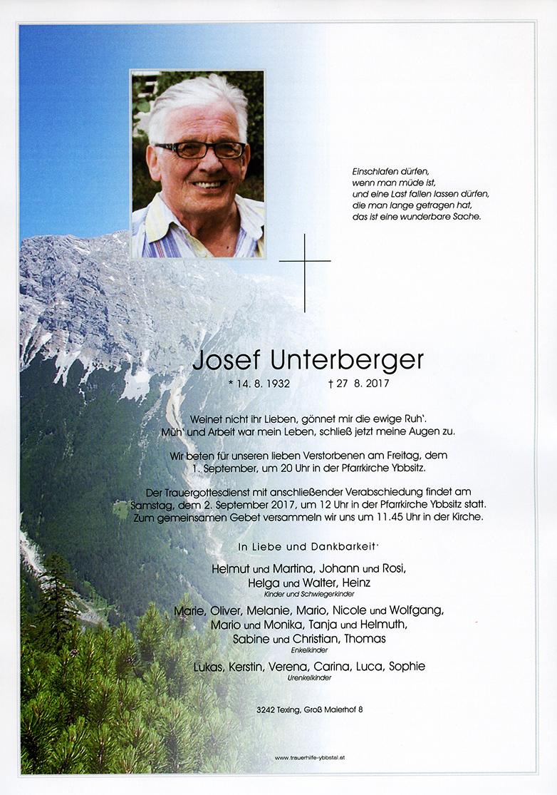 Parte Josef Unterberger