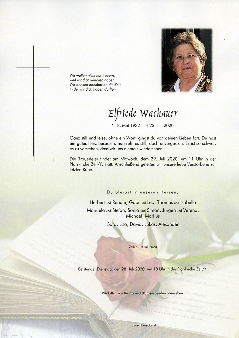 Parte Elfriede Wachauer