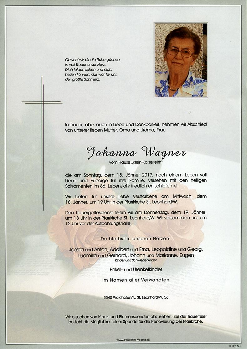 Parte Johanna Wagner