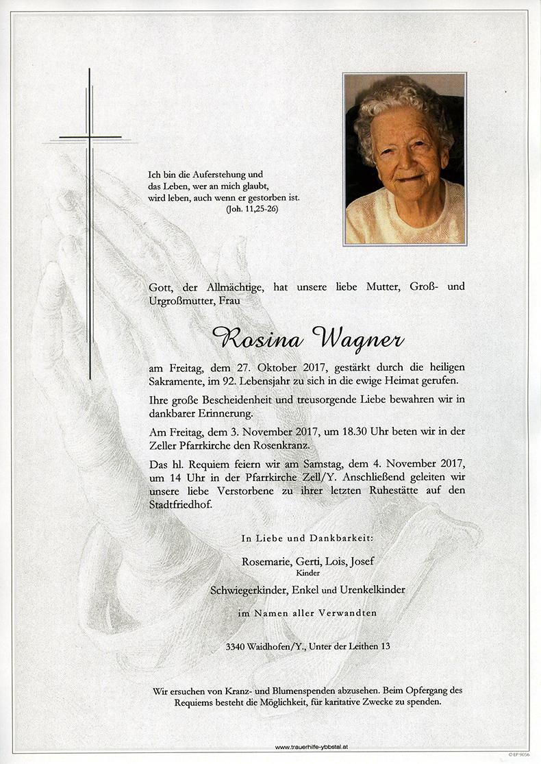 Parte Rosina Wagner