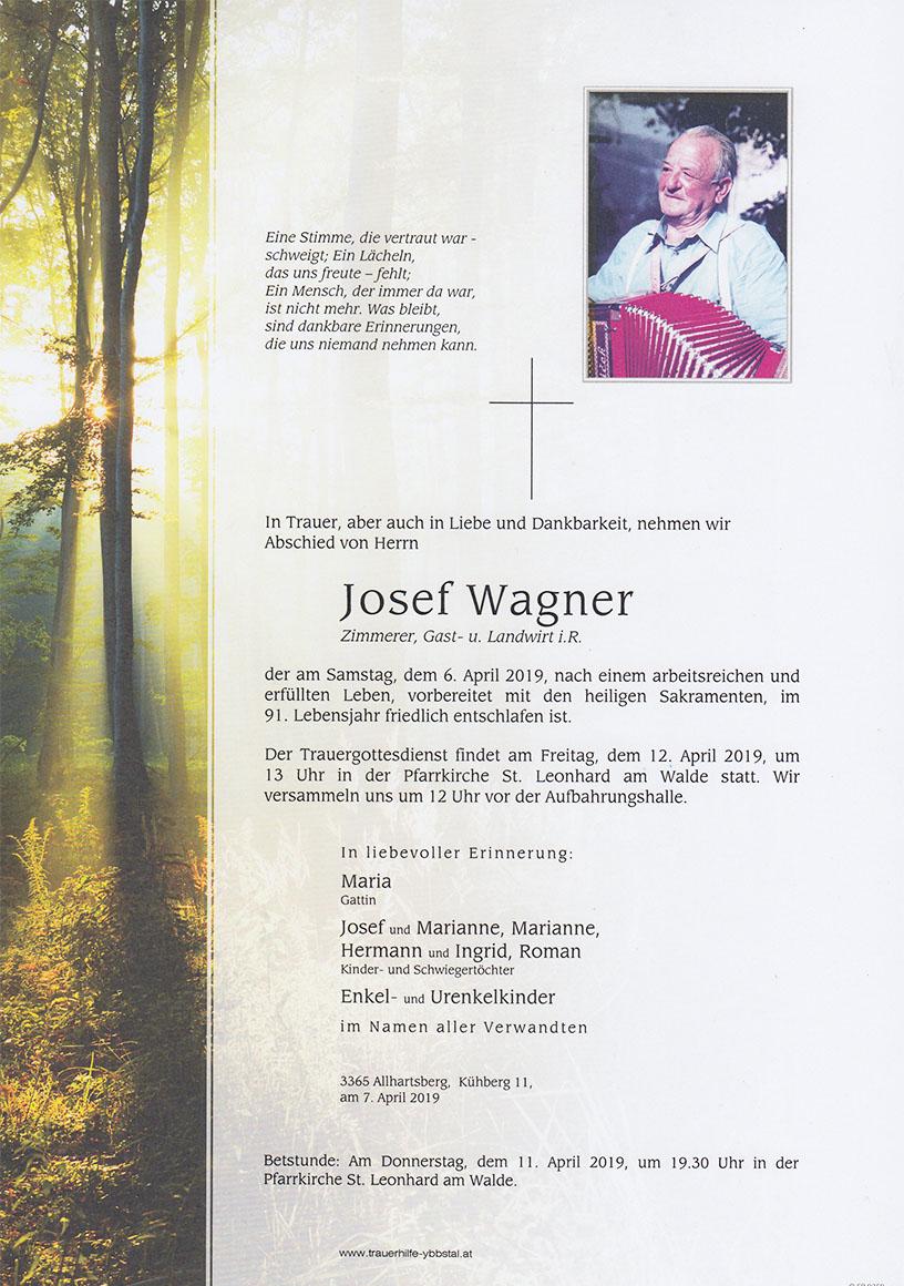 Parte Josef Wagner