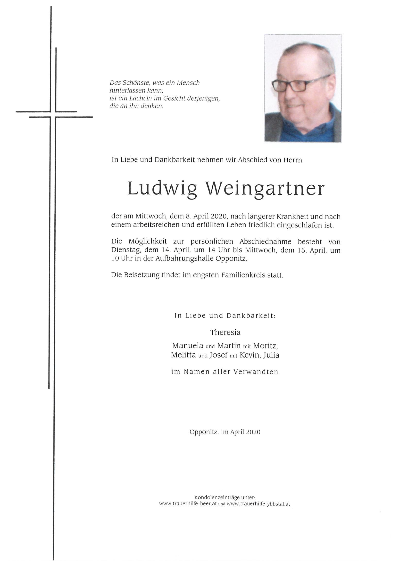 Parte Ludwig Weingartner