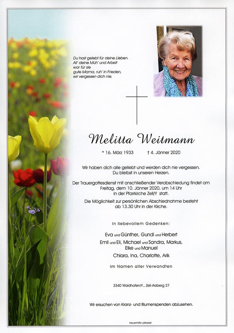 Parte Melitta Weitmann