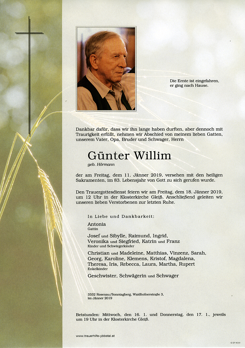 Parte Günter Willim