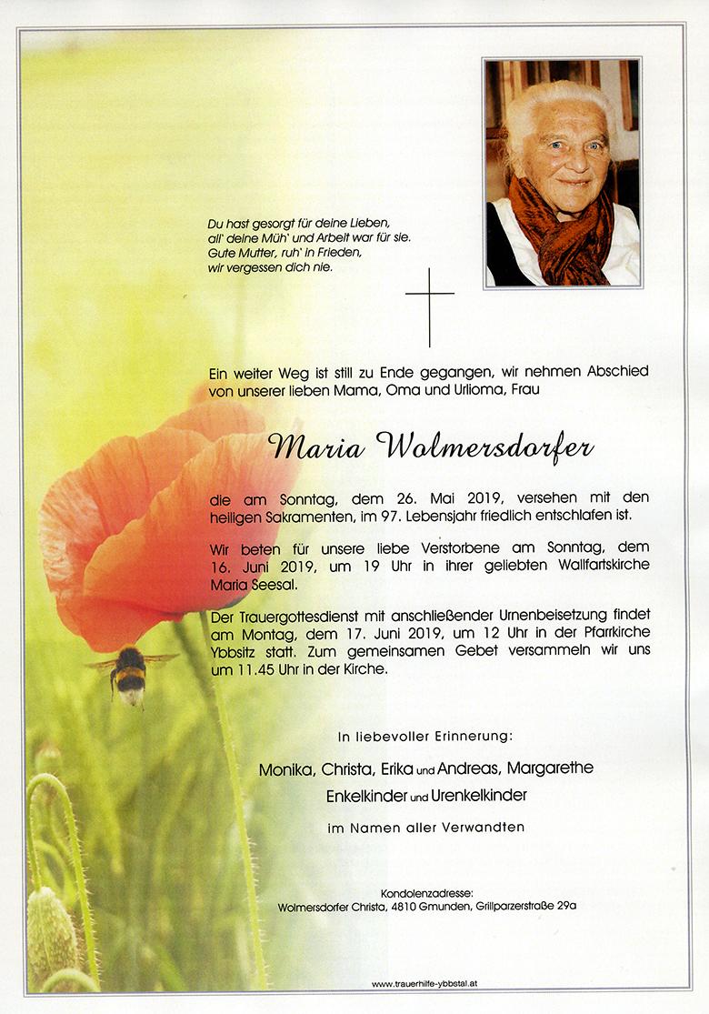 Parte Maria Wolmersdorfer