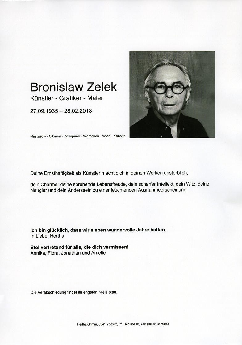 Parte Bronislaw Zelek