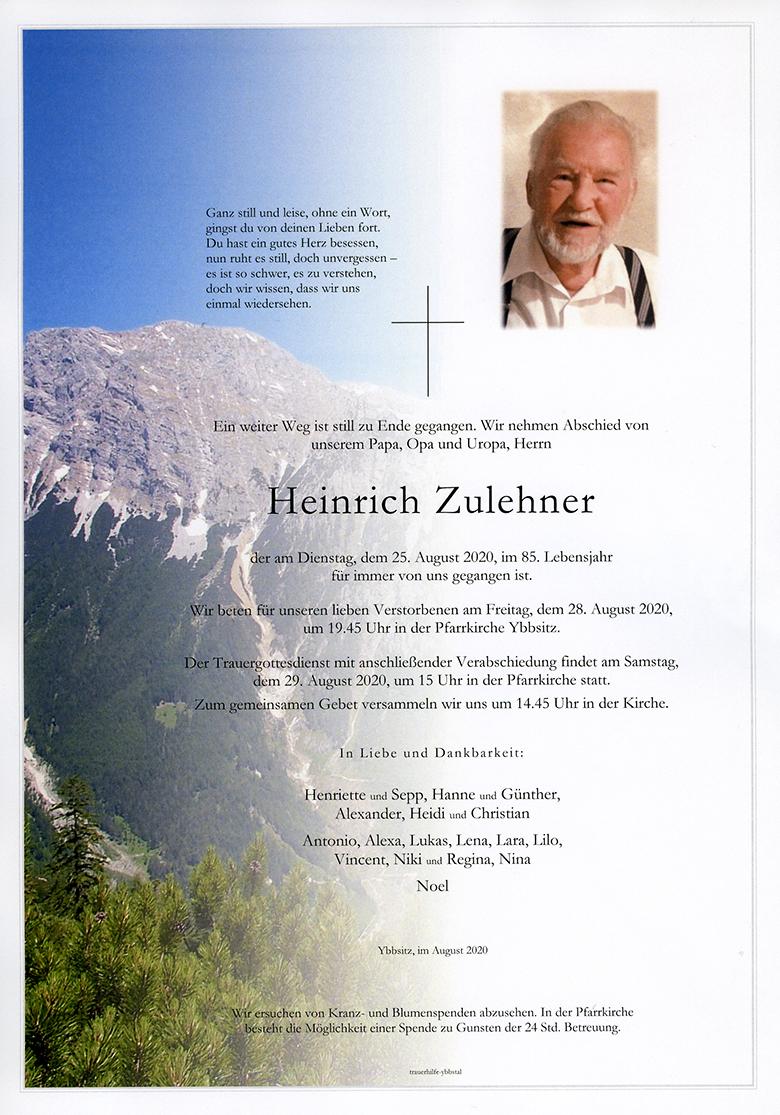 Parte Heinrich Zulehner