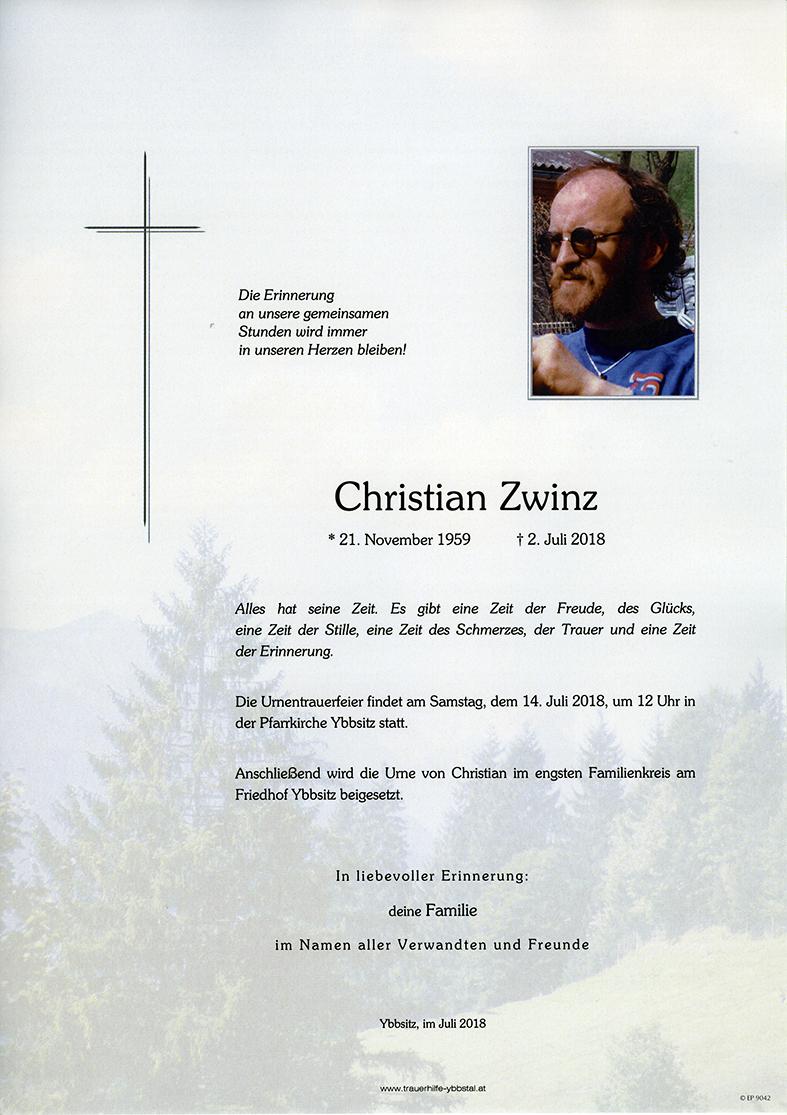 Parte Christian Zwinz